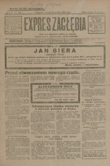 Expres Zagłębia : jedyny organ demokratyczny niezależny woj. kieleckiego. R.4, nr 324 (10 grudnia 1929)
