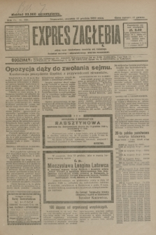Expres Zagłębia : jedyny organ demokratyczny niezależny woj. kieleckiego. R.4, nr 326 (12 grudnia 1929)