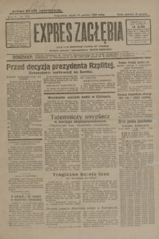 Expres Zagłębia : jedyny organ demokratyczny niezależny woj. kieleckiego. R.4, nr 327 (13 grudnia 1929)