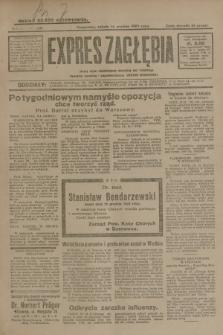 Expres Zagłębia : jedyny organ demokratyczny niezależny woj. kieleckiego. R.4, nr 328 (14 grudnia 1929)
