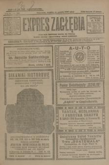 Expres Zagłębia : jedyny organ demokratyczny niezależny woj. kieleckiego. R.4, nr 329 (15 grudnia 1929)