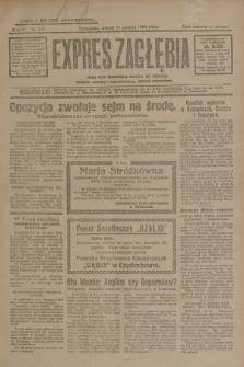 Expres Zagłębia : jedyny organ demokratyczny niezależny woj. kieleckiego. R.4, nr 331 (17 grudnia 1929)