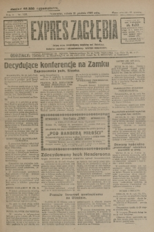 Expres Zagłębia : jedyny organ demokratyczny niezależny woj. kieleckiego. R.4, nr 335 (21 grudnia 1929)