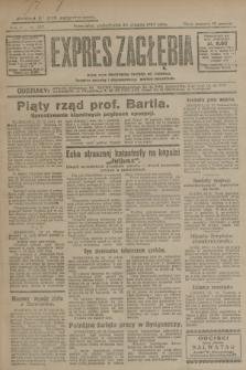 Expres Zagłębia : jedyny organ demokratyczny niezależny woj. kieleckiego. R.4, nr 337 (23 grudnia 1929)