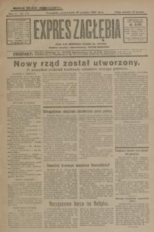 Expres Zagłębia : jedyny organ demokratyczny niezależny woj. kieleckiego. R.4, nr 341 (30 grudnia 1929)