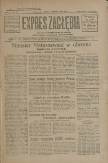 Expres Zagłębia : jedyny organ demokratyczny niezależny woj. kieleckiego. R.5, nr 3 (3 stycznia 1930)