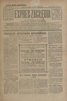 Expres Zagłębia : jedyny organ demokratyczny niezależny woj. kieleckiego. R.5, nr 4 (4 stycznia 1930)