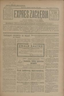 Expres Zagłębia : jedyny organ demokratyczny niezależny woj. kieleckiego. R.5, nr 6 (7 stycznia 1930)