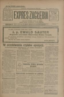 Expres Zagłębia : jedyny organ demokratyczny niezależny woj. kieleckiego. R.5, nr 7 (8 stycznia 1930)