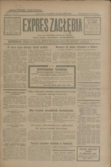 Expres Zagłębia : jedyny organ demokratyczny niezależny woj. kieleckiego. R.5, nr 8 (9 stycznia 1930)