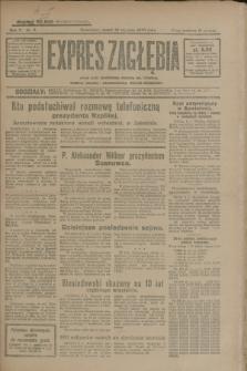 Expres Zagłębia : jedyny organ demokratyczny niezależny woj. kieleckiego. R.5, nr 9 (10 stycznia 1930)