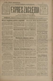 Expres Zagłębia : jedyny organ demokratyczny niezależny woj. kieleckiego. R.5, nr 12 (13 stycznia 1930)
