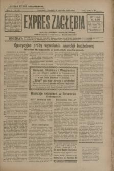 Expres Zagłębia : jedyny organ demokratyczny niezależny woj. kieleckiego. R.5, nr 15 (16 stycznia 1930)