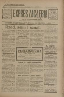 Expres Zagłębia : jedyny organ demokratyczny niezależny woj. kieleckiego. R.5, nr 16 (17 stycznia 1930)