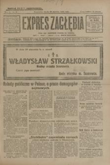 Expres Zagłębia : jedyny organ demokratyczny niezależny woj. kieleckiego. R.5, nr 21 (22 stycznia 1930)