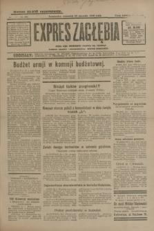 Expres Zagłębia : jedyny organ demokratyczny niezależny woj. kieleckiego. R.5, nr 22 (23 stycznia 1930)