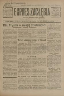 Expres Zagłębia : jedyny organ demokratyczny niezależny woj. kieleckiego. R.5, nr 23 (24 stycznia 1930)