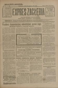 Expres Zagłębia : jedyny organ demokratyczny niezależny woj. kieleckiego. R.5, nr 28 (29 stycznia 1930)