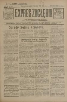 Expres Zagłębia : jedyny organ demokratyczny niezależny woj. kieleckiego. R.5, nr 29 (30 stycznia 1930)
