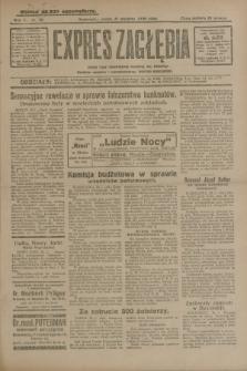 Expres Zagłębia : jedyny organ demokratyczny niezależny woj. kieleckiego. R.5, nr 30 (31 stycznia 1930)