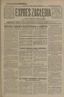 Expres Zagłębia : jedyny organ demokratyczny niezależny woj. kieleckiego. R.5, nr 34 (4 lutego 1930)