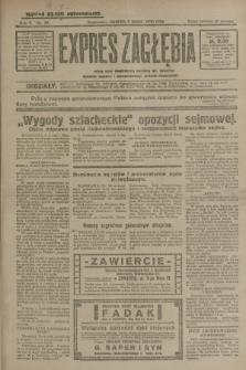Expres Zagłębia : jedyny organ demokratyczny niezależny woj. kieleckiego. R.5, nr 38 (9 lutego 1930)