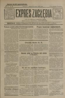 Expres Zagłębia : jedyny organ demokratyczny niezależny woj. kieleckiego. R.5, nr 51 (22 lutego 1930)