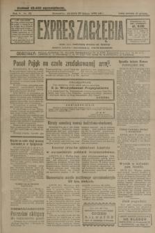 Expres Zagłębia : jedyny organ demokratyczny niezależny woj. kieleckiego. R.5, nr 52 (23 lutego 1930)