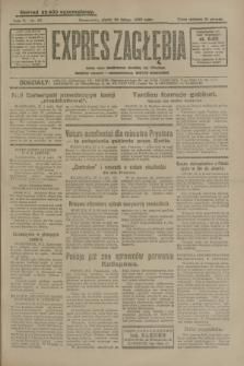 Expres Zagłębia : jedyny organ demokratyczny niezależny woj. kieleckiego. R.5, nr 57 (28 lutego 1930)