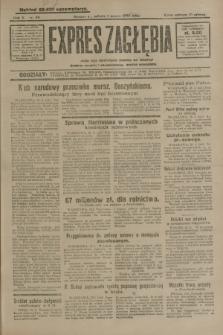 Expres Zagłębia : jedyny organ demokratyczny niezależny woj. kieleckiego. R.5, nr 58 (1 marca 1930)
