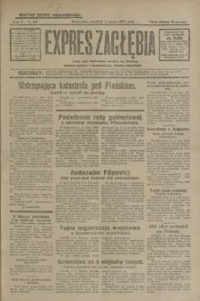Expres Zagłębia : jedyny organ demokratyczny niezależny woj. kieleckiego. R.5, nr 63 (6 marca 1930)