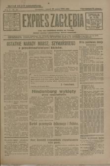 Expres Zagłębia : jedyny organ demokratyczny niezależny woj. kieleckiego. R.5, nr 82 (25 marca 1930)