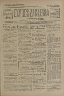 Expres Zagłębia : jedyny organ demokratyczny niezależny woj. kieleckiego. R.5, nr 84 (27 marca 1930)