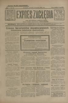 Expres Zagłębia : jedyny organ demokratyczny niezależny woj. kieleckiego. R.5, nr 94 (6 kwietnia 1930)