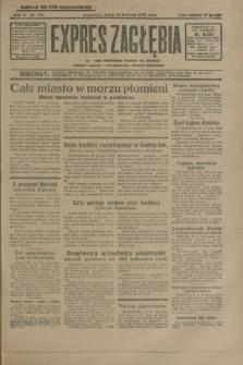Expres Zagłębia : jedyny organ demokratyczny niezależny woj. kieleckiego. R.5, nr 106 (18 kwietnia 1930)
