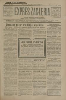 Expres Zagłębia : jedyny organ demokratyczny niezależny woj. kieleckiego. R.5, nr 108 (23 kwietnia 1930)
