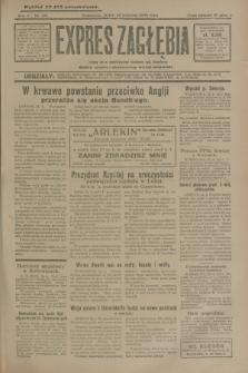 Expres Zagłębia : jedyny organ demokratyczny niezależny woj. kieleckiego. R.5, nr 110 (25 kwietnia 1930)