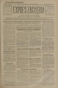 Expres Zagłębia : jedyny organ demokratyczny niezależny woj. kieleckiego. R.5, nr 113 (28 kwietnia 1930)