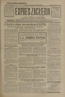 Expres Zagłębia : jedyny organ demokratyczny niezależny woj. kieleckiego. R.5, nr 118 (3 maja 1930)