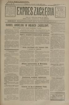 Expres Zagłębia : jedyny organ demokratyczny niezależny woj. kieleckiego. R.5, nr 121 (8 maja 1930)