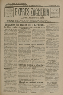 Expres Zagłębia : jedyny organ demokratyczny niezależny woj. kieleckiego. R.5, nr 122 (9 maja 1930)