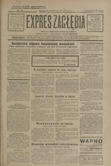 Expres Zagłębia : jedyny organ demokratyczny niezależny woj. kieleckiego. R.5, nr 124 (11 maja 1930)