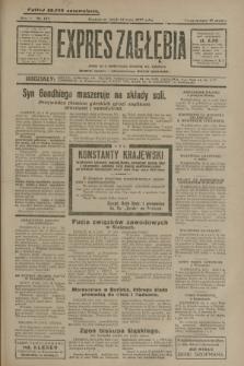 Expres Zagłębia : jedyny organ demokratyczny niezależny woj. kieleckiego. R.5, nr 127 (14 maja 1930)