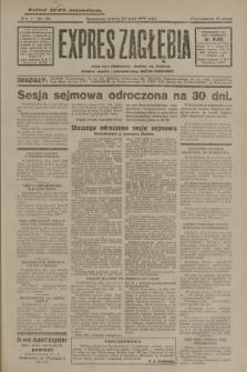 Expres Zagłębia : jedyny organ demokratyczny niezależny woj. kieleckiego. R.5, nr 137 (24 maja 1930)