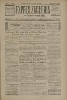 Expres Zagłębia : jedyny organ demokratyczny niezależny woj. kieleckiego. R.5, nr 144 (1 czerwca 1930)