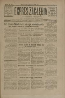 Expres Zagłębia : jedyny organ demokratyczny niezależny woj. kieleckiego. R.5, nr 147 (4 czerwca 1930)