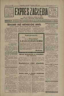 Expres Zagłębia : jedyny organ demokratyczny niezależny woj. kieleckiego. R.5, nr 160 (19 czerwca 1930)