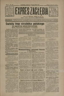 Expres Zagłębia : jedyny organ demokratyczny niezależny woj. kieleckiego. R.5, nr 161 (21 czerwca 1930)