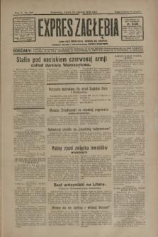 Expres Zagłębia : jedyny organ demokratyczny niezależny woj. kieleckiego. R.5, nr 163 (24 czerwca 1930)