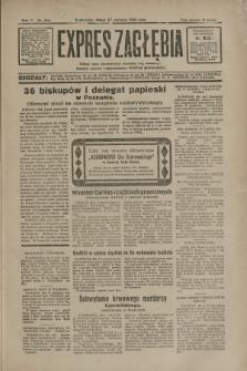 Expres Zagłębia : jedyny organ demokratyczny niezależny woj. kieleckiego. R.5, nr 166 (27 czerwca 1930)